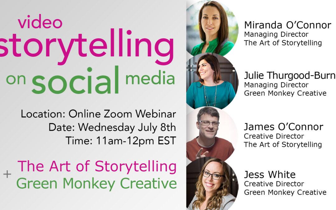 Video Storytelling on Social Media Webinar